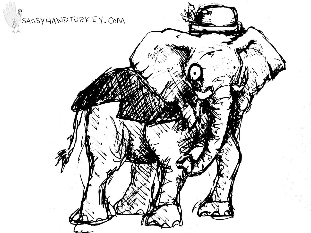 dapper elephant