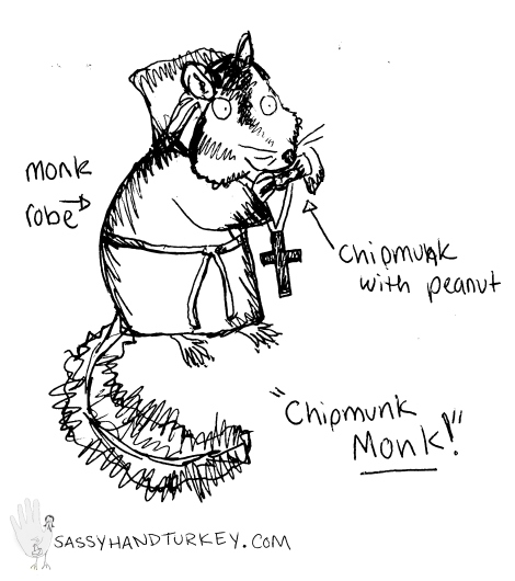Chipmunk Monk