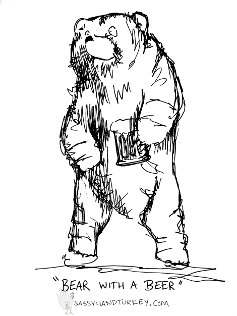 Bear With A Beer