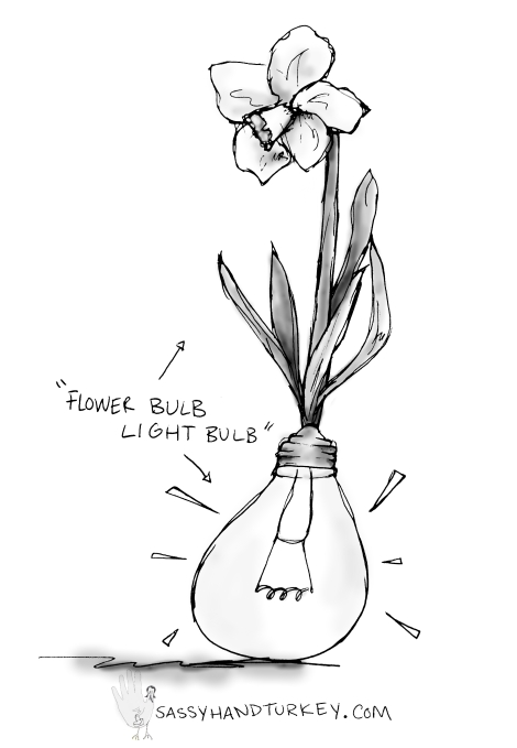 Flower Bulb Light Bulb