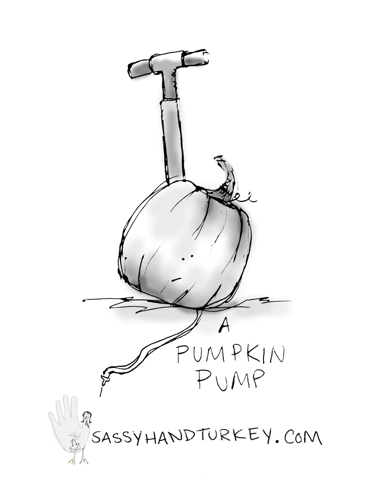 A Pumpkin Pump